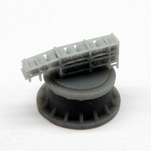Black Cat Models 1/350 BLACK CAT MODELS DEPTH CHARGES RELEASE TRACK FOR MKVII DEPTH CHARGES X2