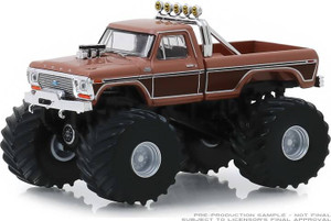 Greenlight Greenlight 1/64 Kings of Crunch 5 - BFT - 1978 Ford F-350 Monster Truck