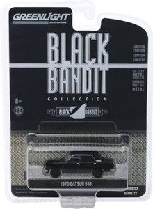 Greenlight Greenlight 1/64 Black Bandit Series 22 - 1970 Datsun 510 4-Door Sedan