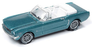 Johnny Lightning Johnny Lightning 50th Anniversary 1/64 2A - 1964 1/2 Ford Mustang Convertible, Dynasty Green
