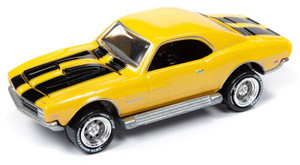 Johnny Lightning Johnny Lightning 50th Anniversary 1/64 2A - Topper Custom Chevy Camaro, Bright Yellow Pearl