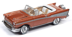 Johnny Lightning Johnny Lightning 50th Anniversary 1/64 2B - 1957 Chevy Bel Air, Sierra Gold