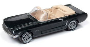 Johnny Lightning Johnny Lightning 50th Anniversary 1/64 2B - 1964 1/2 Ford Mustang Convertible, Cascade Green