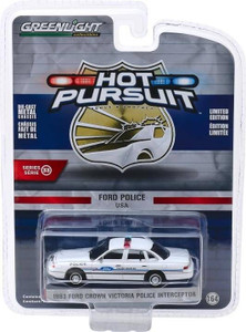 Greenlight Greenlight 1/64 Hot Pursuit 33 - 1993 Ford Crown Victoria Police Interceptor - Show Car