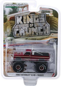 Greenlight Greenlight 1/64 Kings of Crunch 6 - Taurus, 1986 Chevrolet K20 Monster Truck