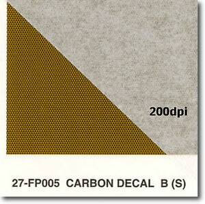 Studio 27 1/24 Studio 27 Carbon Fiber Decal S