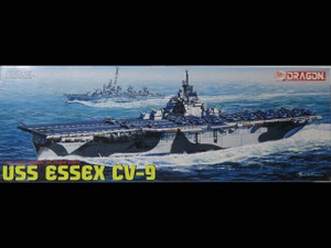 Dragon Models 1/700 Dragon Models USS Essex CV-9