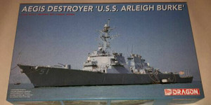 Dragon Models 1/700 Dragon Models Aegis Destroyer USS Arleigh Burke