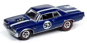 Johnny Lightning Johnny Lightning 1/64 Street Freaks 2020 1A - 1964 Pontiac GTO, Metallic Dark Blue