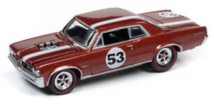 Johnny Lightning Johnny Lightning 1/64 Street Freaks 2020 1B - 1964 Pontiac GTO, Metallic Bronze