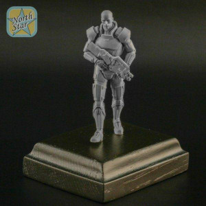 North Star Models 1/72 North Star Models Savior of the Galaxy resin figure male w/wooden display base
