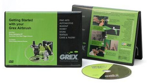 Grex Airbrush Grex Getting started with your Grex Airbrush DVD
