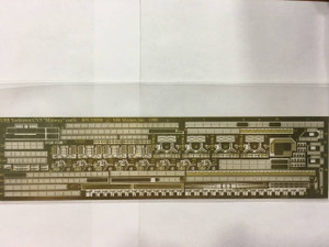 Yankee Modelworks 1/350 Yankee Models Photo Etch for USS Yorktown CV5 Midway outfit
