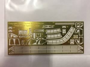 Yankee Modelworks 1/350 Yankee Models Photo Etch for Type IXc U-Boat