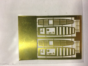 Yankee Modelworks 1/350 Yankee Models USN Boat Detail Photo Etch