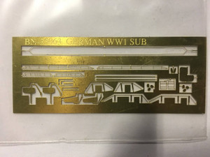 Yankee Modelworks 1/350 Yankee Models Photo Etch for WWI German Submarine