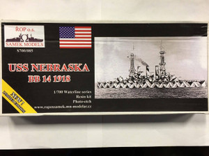 Samek Models 1/700 Samek Resin Models USS Nebraska BB 14 1918