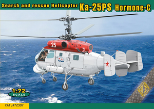 1/72 Ace Models Ka-25PS Hormone-C search and rescue (SAR) Soviet Naval Helicopter