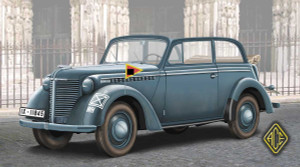 1/72 ACE Models 1938 Olympia Stabswagen (Staff Car) Cabriolet