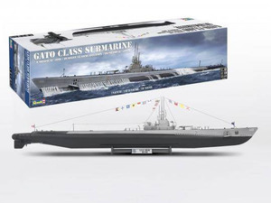 Revell 1/72 Revell Gato Class Submarine Model Kit