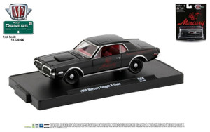 M2 Machines M2 Machines Drivers 66 - 1968 Mercury Cougar, Black