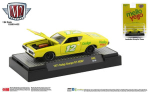 M2 Machines M2 Machines Coca-Cola - 1971 Dodge Charger R/T Hemi, Yellow