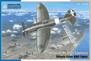 Special Hobby 1/48 Special Hobby Reggian Re.2005 Sagittario Ultimate Italian WWII Fighter
