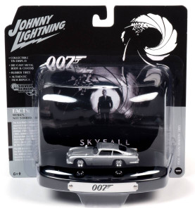 Johnny Lightning Johnny Lightning 1/64 Aston Martin DB5, James Bond Skyfall