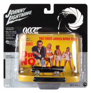 Johnny Lightning Johnny Lightning 1/64 1957 Chevy, James Bond Dr No