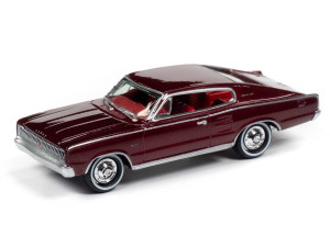 Johnny Lightning Johnny Lightning Classic Gold 2020 1/64 1A - 1967 Dodge Charger, Dark Red Poly