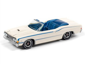 Johnny Lightning Johnny Lightning Classic Gold 2020 1/64 1A - 1968 Ford Torino Convertible, Wimbledon White