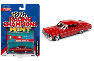 Racing Champions Racing Champions 1/64 1964 Chevy Impala Hardtop, Riverside Red