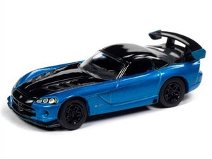 Johnny Lightning Johnny Lightning Classic Gold 2020 1/64 1A - 2008 Dodge Viper SRT10, Blue Metallic