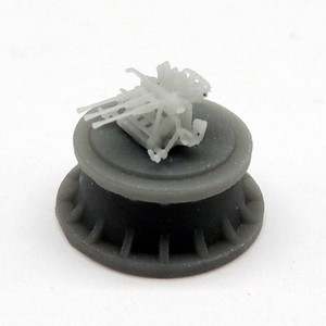 Black Cat Models 1/350 Black Cat Models IJN 25MM TYPE 96 TRIPLE MOUNT AA GUN X6