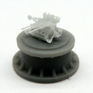 Black Cat Models 1/350 Black Cat Models IJN 25MM TYPE 96 TRIPLE MOUNT AA GUN WITH AIMING RINGS X6