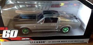 Greenlight Greenlight 1/24 Gone in Sixty Seconds 1967 Ford Mustang Eleanor, GREEN MACHINE
