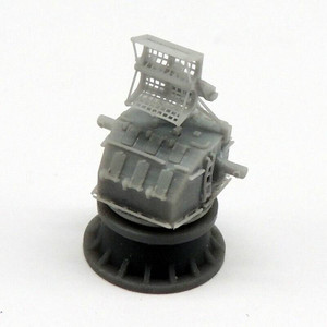 Black Cat Models 1/350 Black Cat Models Mk.37 gun director early version with Mk.4 antenna x2