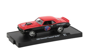 M2 Machines 1/64 M2 Machines Drivers 67 1969 Chevrolet Camaro SS/RS, Red/Black