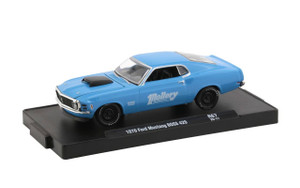 M2 Machines 1/64 M2 Machines Drivers 67 1970 Ford Mustang Boss 429, Blue