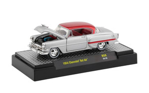 M2 Machines 1/64 M2 Machines Auto-Thentics 59 1954 Chevrolet Bel Air, Grey