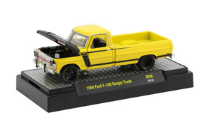 M2 Machines 1/64 M2 Machines Auto-Thentics 59 1969 Ford F-100 Ranger Truck, Yellow