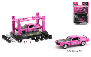 M2 Machines 1/64 M2 Machine Model-Kits 31 1971 Plymouth Cuda, Pink