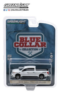 Greenlight Greenlight 1/64 2019 Nissan Titan XD Pro-4X in Pearl White