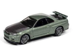 Johnny Lightning Johnny Lightning 2000 Nissan Skyline Import Heat – Millennium Jade