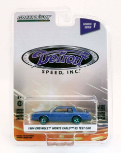 Greenlight Greenlight 1/64 1984 Chevrolet Monte Carlo SS Test Car - GREEN MACHINE