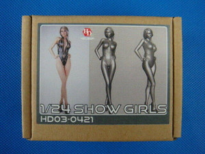 Hobby Design 1/24 Hobby Design Show Girls Resin Model Kit