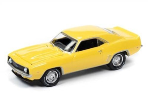 Johnny Lightning Johnny Lightning 1/64 1969 COPO Chevrolet Camaro ZL1 Daytona Yellow
