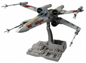 Bandai X-Wing Star Fighter Star Wars, Bandai Star Wars 1/72 Plastic Model