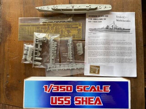 Yankee Modelworks 1/350 Yankee Modelworks USS Sumner Class Shea Destroyer Minelayer, Standard Resin Model Kit