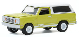 Greenlight 1/64 1977 Dodge Macho Ramcharger 4x4 with Four By Four Stripe Kit